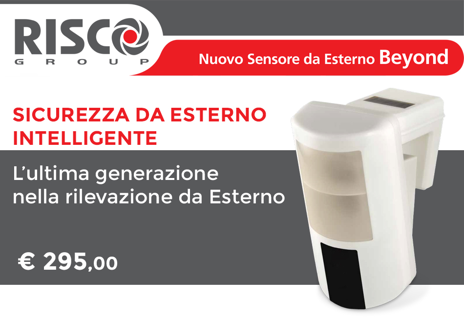 RISCO Beyond Sicurezza Intelligente