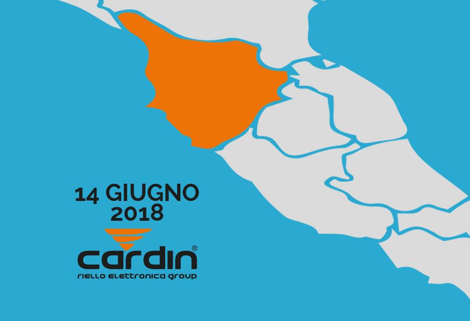 Presentazione nuovo catalogo CARDIN 2018