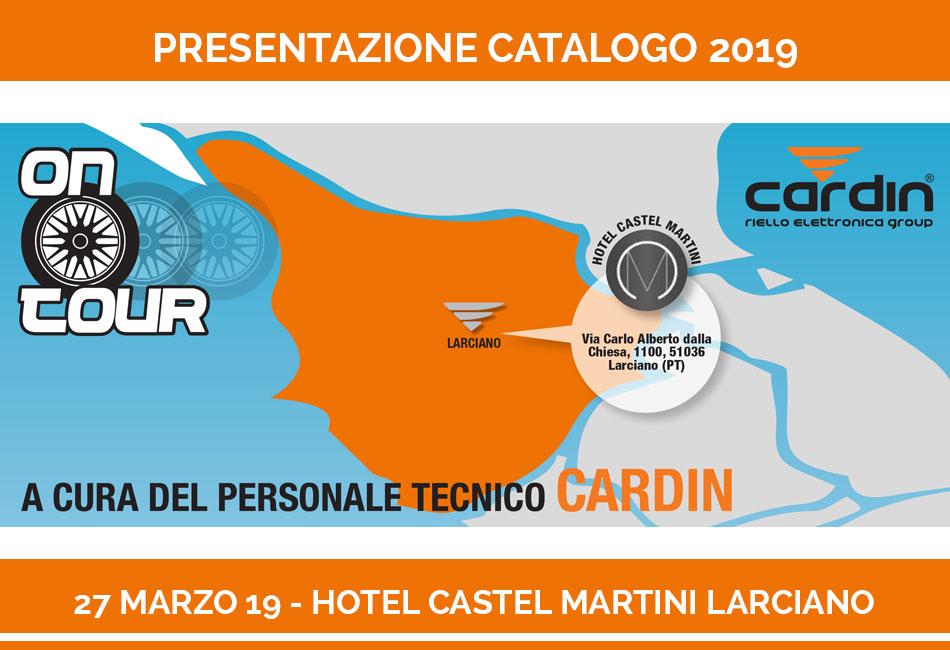 Presentazione Catalogo e Novità CARDIN 2019