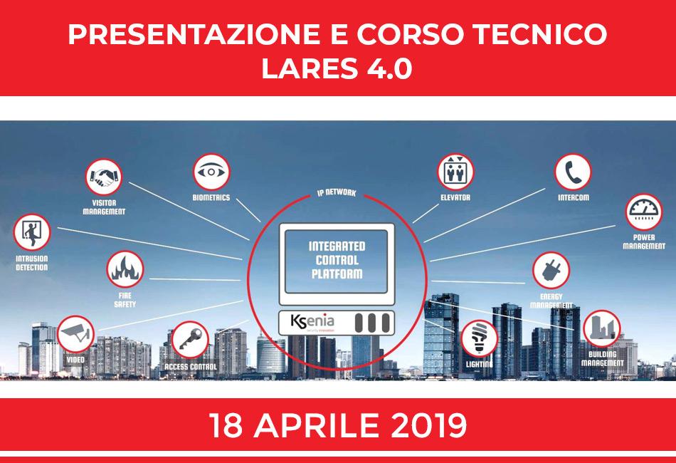 Presentazione e Corso Tecnico Lares 4.0