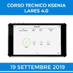 KSENIA LARES 4.0 CORSO TECNICO STARTUP 19 SETTEMBRE