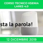 KSENIA LARES 4.0 CORSO TECNICO STARTUP 12 DICEMBRE